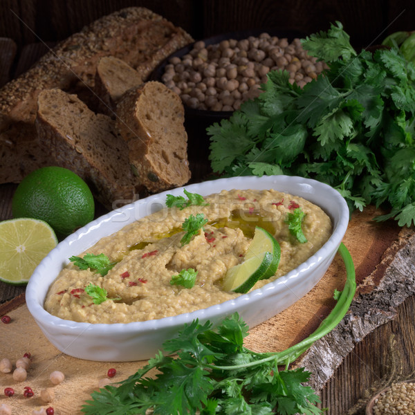 Hummus Stock photo © Dar1930