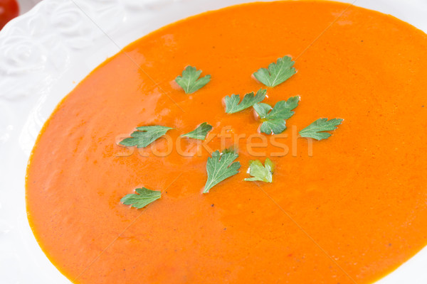 Paprika soup Stock photo © Dar1930