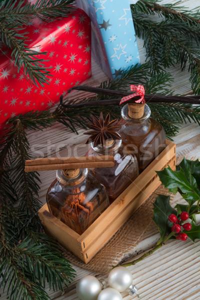 Christmas heerlijk voedsel partij gezondheid Stockfoto © Dar1930