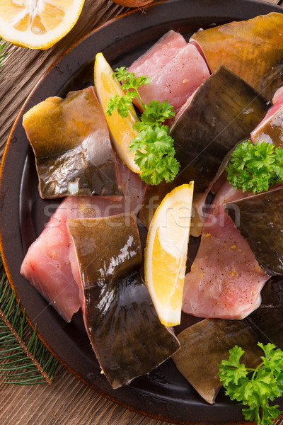 filleted carp Stock photo © Dar1930