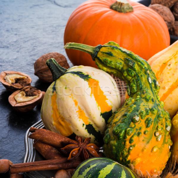 Сток-фото: осень · продовольствие · лист · осень · растительное