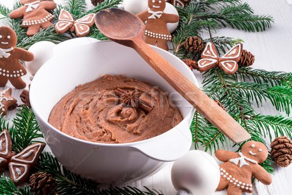 Zencefilli çörek gıda dizayn kek star araç Stok fotoğraf © Dar1930