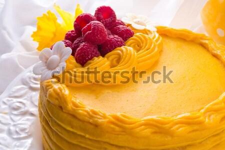 egg liquor cake Stock photo © Dar1930