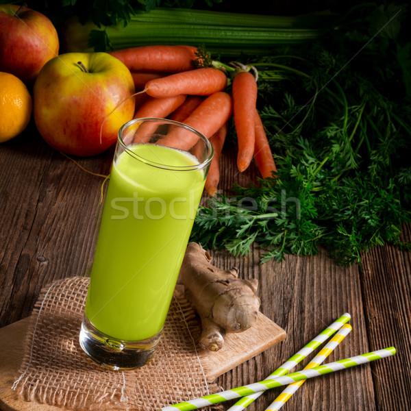 セロリ ジュース 自然 葉 フルーツ ストックフォト © Dar1930