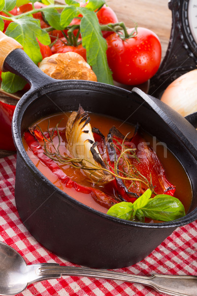 Tomato soup Stock photo © Dar1930