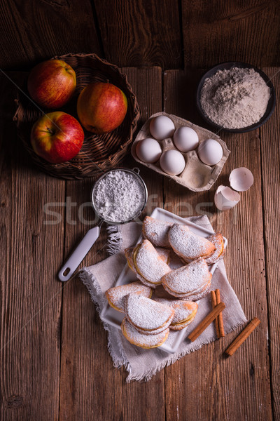 fruity apple cinnamon mostbiscuits Stock photo © Dar1930