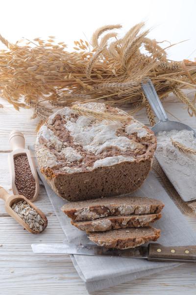 Even baked bread Stock photo © Dar1930