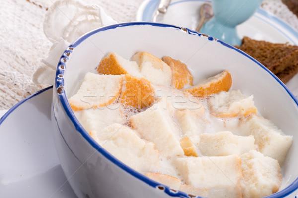 伝統的に コーヒー 幸せ 健康 チョコレート 卵 ストックフォト © Dar1930