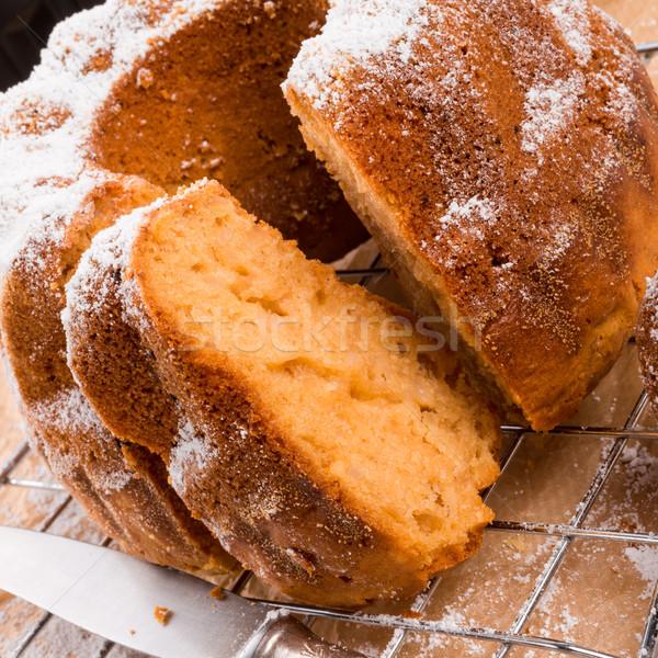 ケーキ コメ 小麦粉 プレート 食べ デザート ストックフォト © Dar1930