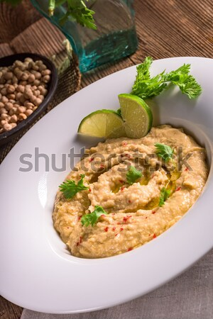Stockfoto: Voedsel · citroen · olijfolie · koken · Oost · dieet