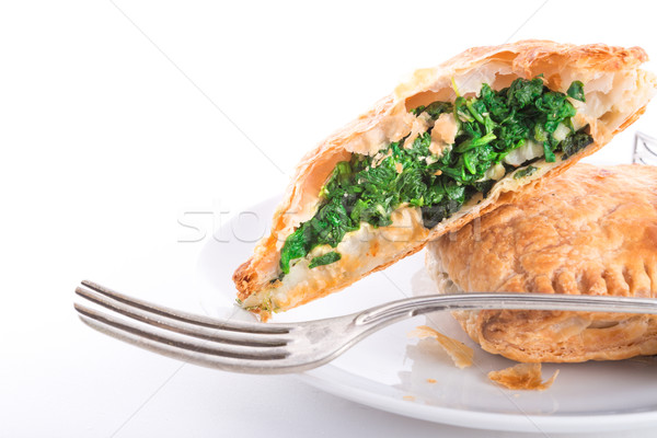 Spinach puff pastry  Stock photo © Dar1930