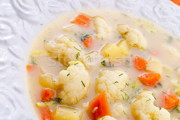 cauliflower soup Stock photo © Dar1930