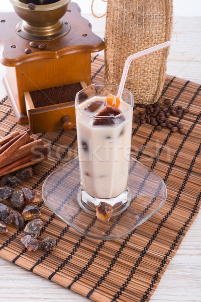Iced coffee Stock photo © Dar1930