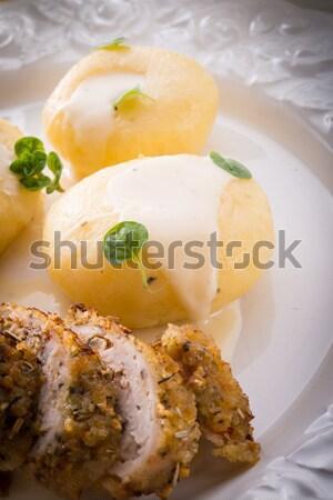 Silesian dumplings Stock photo © Dar1930