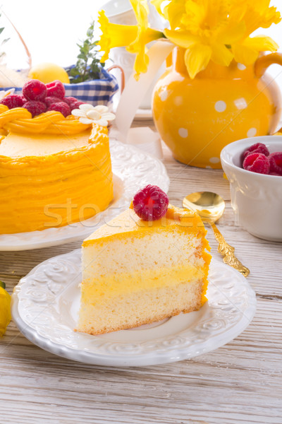 egg liquor cake Stock photo © Dar1930
