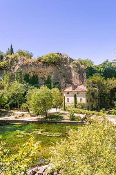 Stock photo: Fontaine-de-Vaucluse