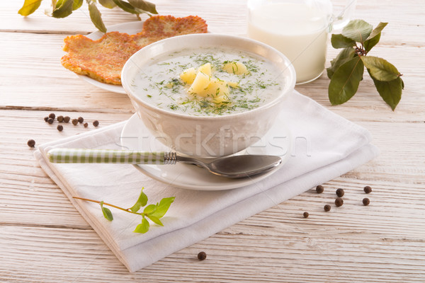 Dill soup Stock photo © Dar1930