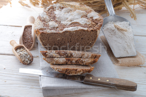 Even baked bread Stock photo © Dar1930