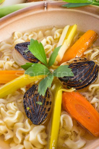 Noodle soup Stock photo © Dar1930