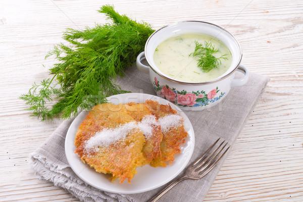 Dill soup Stock photo © Dar1930