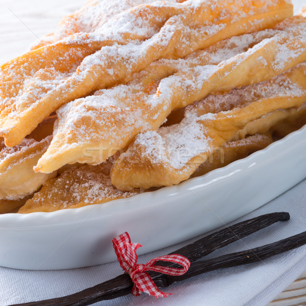 воронка торт жира десерта Кука карнавальных Сток-фото © Dar1930