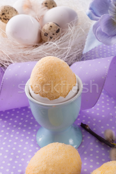 oster cake in the chicken egg Stock photo © Dar1930