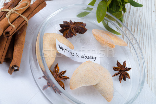 Fortune cookie Stock photo © Dar1930