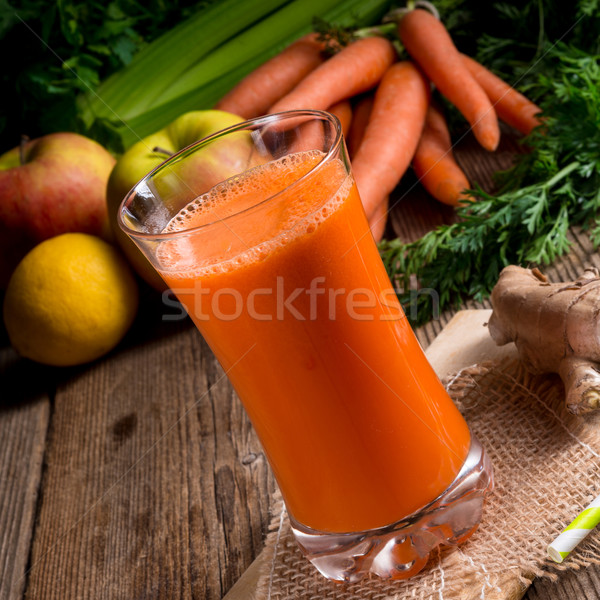 Foto stock: Primavera · frutas · vidrio · beber
