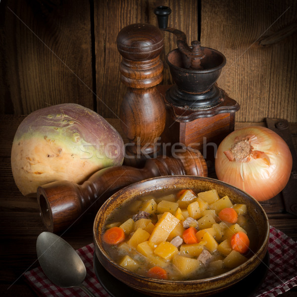 Rutabaga soup Stock photo © Dar1930