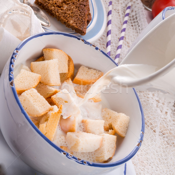 по традиции кофе счастливым здоровья шоколадом яйцо Сток-фото © Dar1930