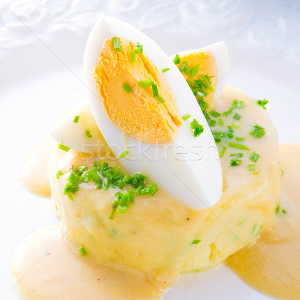 fresh mustard eggs Stock photo © Dar1930