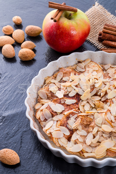 Foto stock: Manzana · tarta · casa · torta · cocina · cocinar