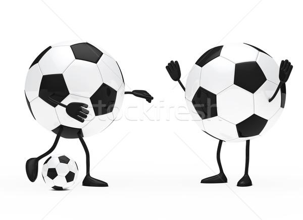 Foto stock: Futebol · descobrir · bola · futebol · esportes · equipe