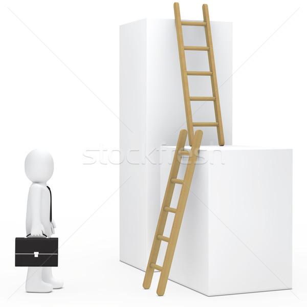 businessman stairs Stock photo © dariusl