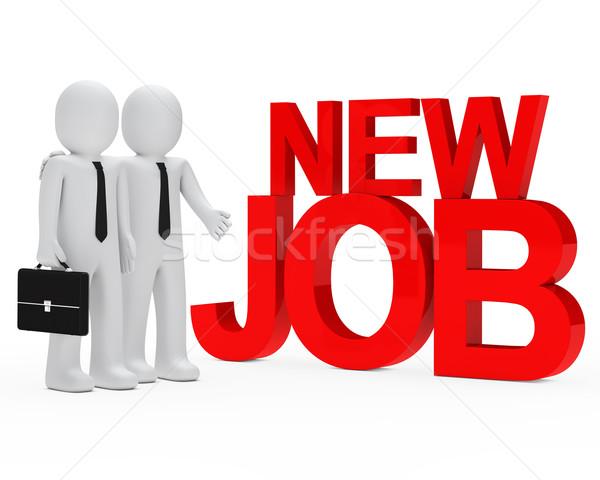 businessman new job Stock photo © dariusl