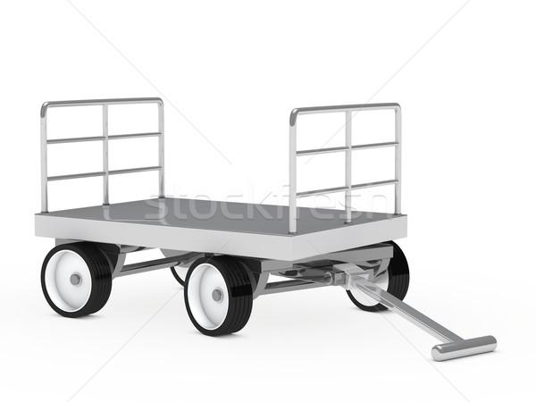 warehouse trolley Stock photo © dariusl