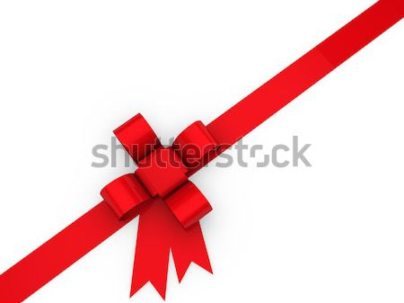 3d loop christmas red  Stock photo © dariusl