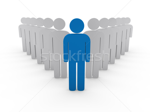 3d team leader boss company  Stock photo © dariusl