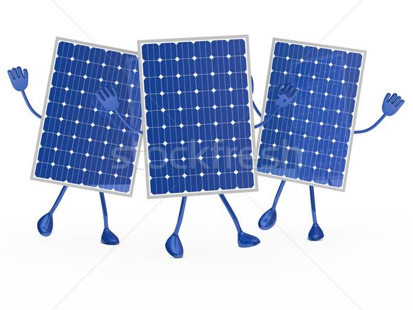 solar figure Stock photo © dariusl