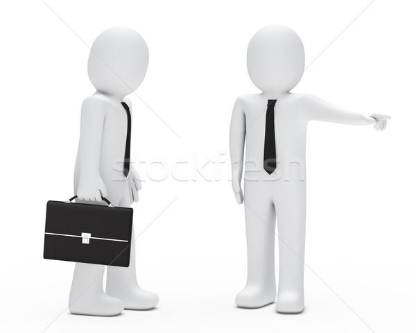 Boss fired businessman Stock photo © dariusl