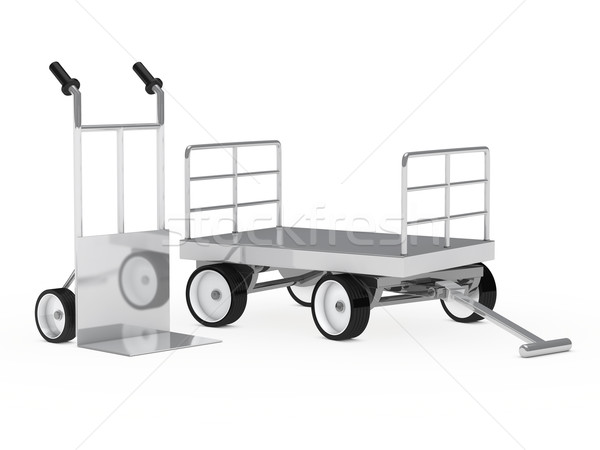transport hand truck and trolley  Stock photo © dariusl