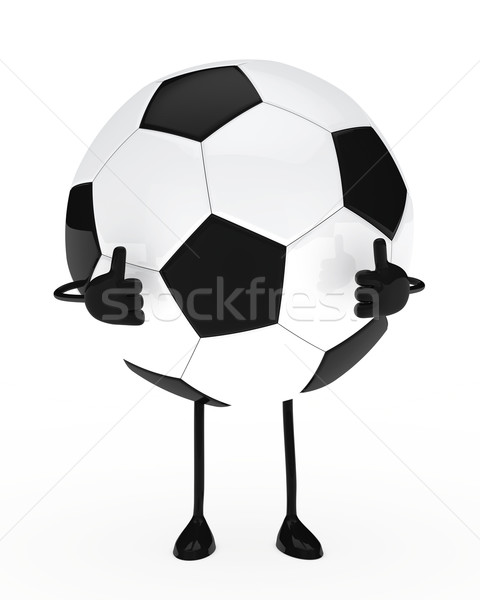 football figure Stock photo © dariusl