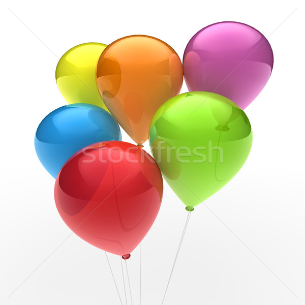 3d ballon colorful Stock photo © dariusl