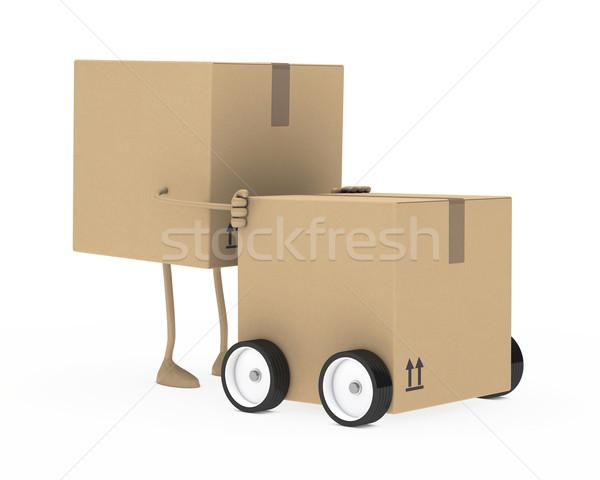 package figure Stock photo © dariusl