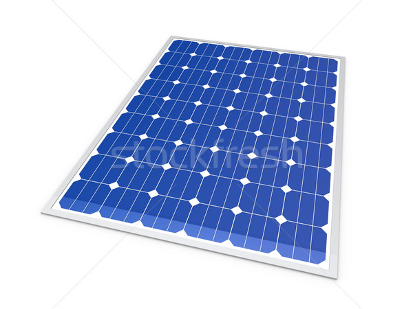 3d solar power energy Stock photo © dariusl