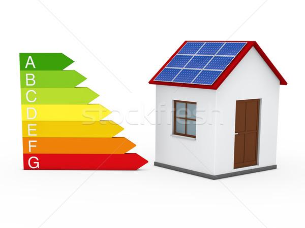 3d energy house  Stock photo © dariusl