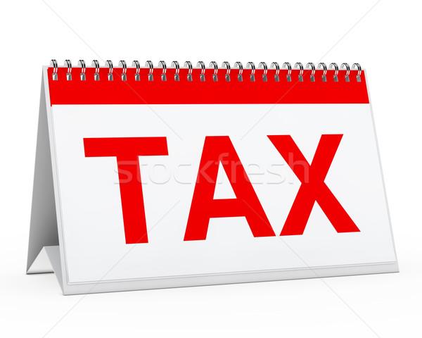 calendar tax Stock photo © dariusl