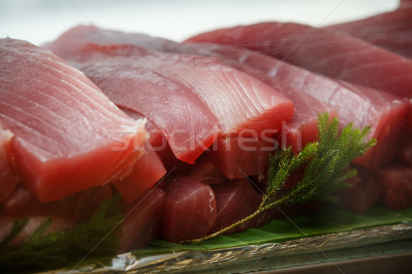 tuna sashimi Stock photo © darkkong