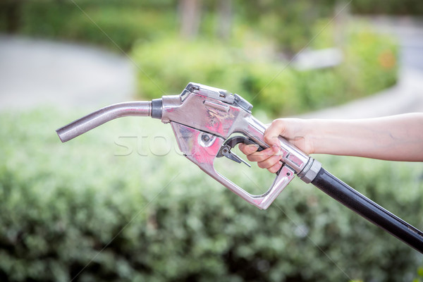 fuel nozzle Stock photo © darkkong