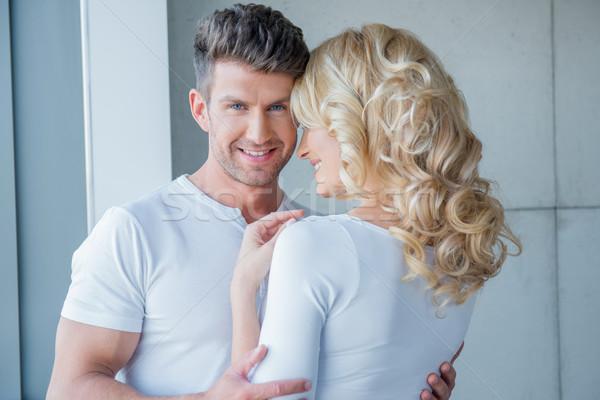 красивый молодым человеком жена стерня Сток-фото © dash